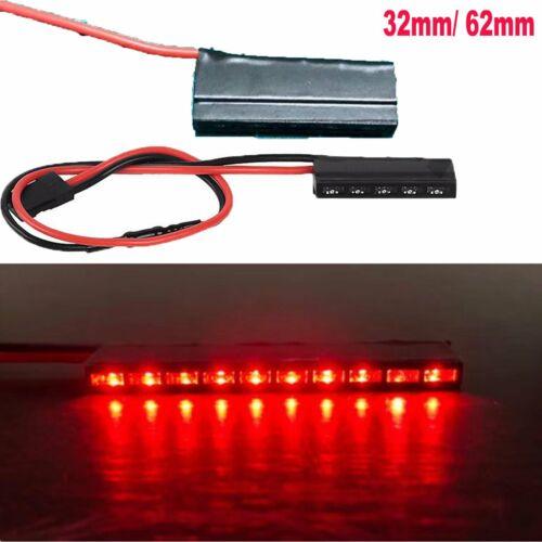 Für Tamiya TRX4 Axial SCX10 II D90 RC Auto 1:10 Rot LED Brake Licht 32//62mm 12V