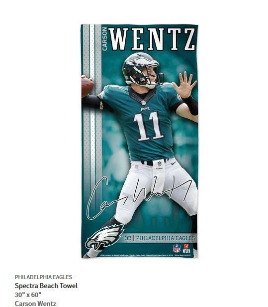 565721552 Carson Wentz Philadelphia Eagles