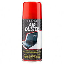 1X 200ml Compressed Air Duster Spray Can Cleans Protects Laptops Keyboards