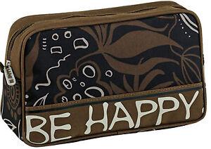 Be-Happy-Kulturbeutel-Kulturtasche-klein-Toilet-bag-Dschungel-schwarz