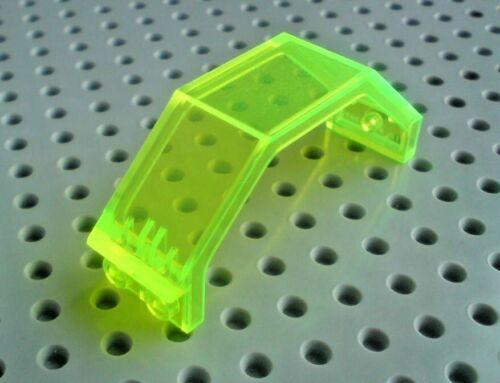 Lego Panel 3x2x6 Trans Neon Green x1 2466