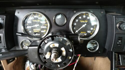 Gauge Custom Aluminum Panel 82-89 Camaro Dash
