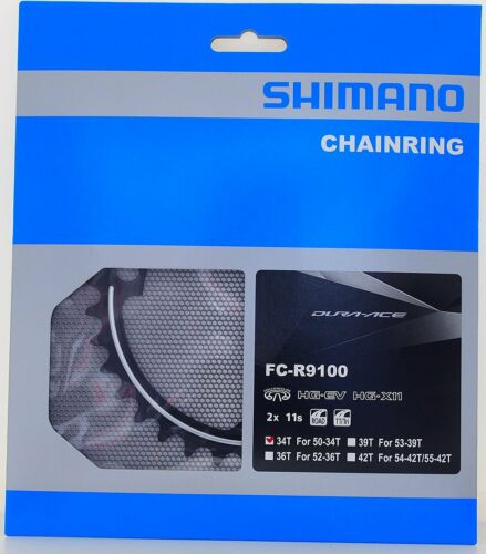 Shimano Dura Ace FC-R9100 11 Speed 34T Chainring for 50-34T Crankset