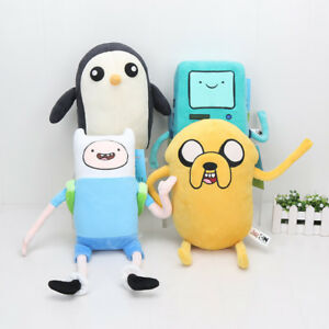 10-33cm-Adventure-time-Plush-Toy-Doll-Jake-Finn-Penguin-Gunter-Stuffed-Soft-Gift