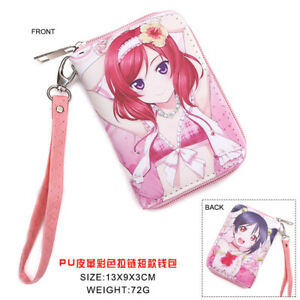 Anime LOVELIVE Love Live Polyurethan Geldbörse brieftasche PU Purse Wallet