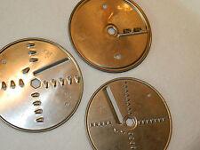 3 LAME disque OUTILS de COUPE rape HEXAGONAL 142-12 mm robot CUISINE blade DISC