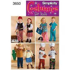 Simplicity 9892 Santa Pirate Vampire Sultan Ballerina Costume Pattern UNCUT VTG