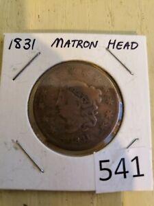 1831-Matron-Head-Large-Cent