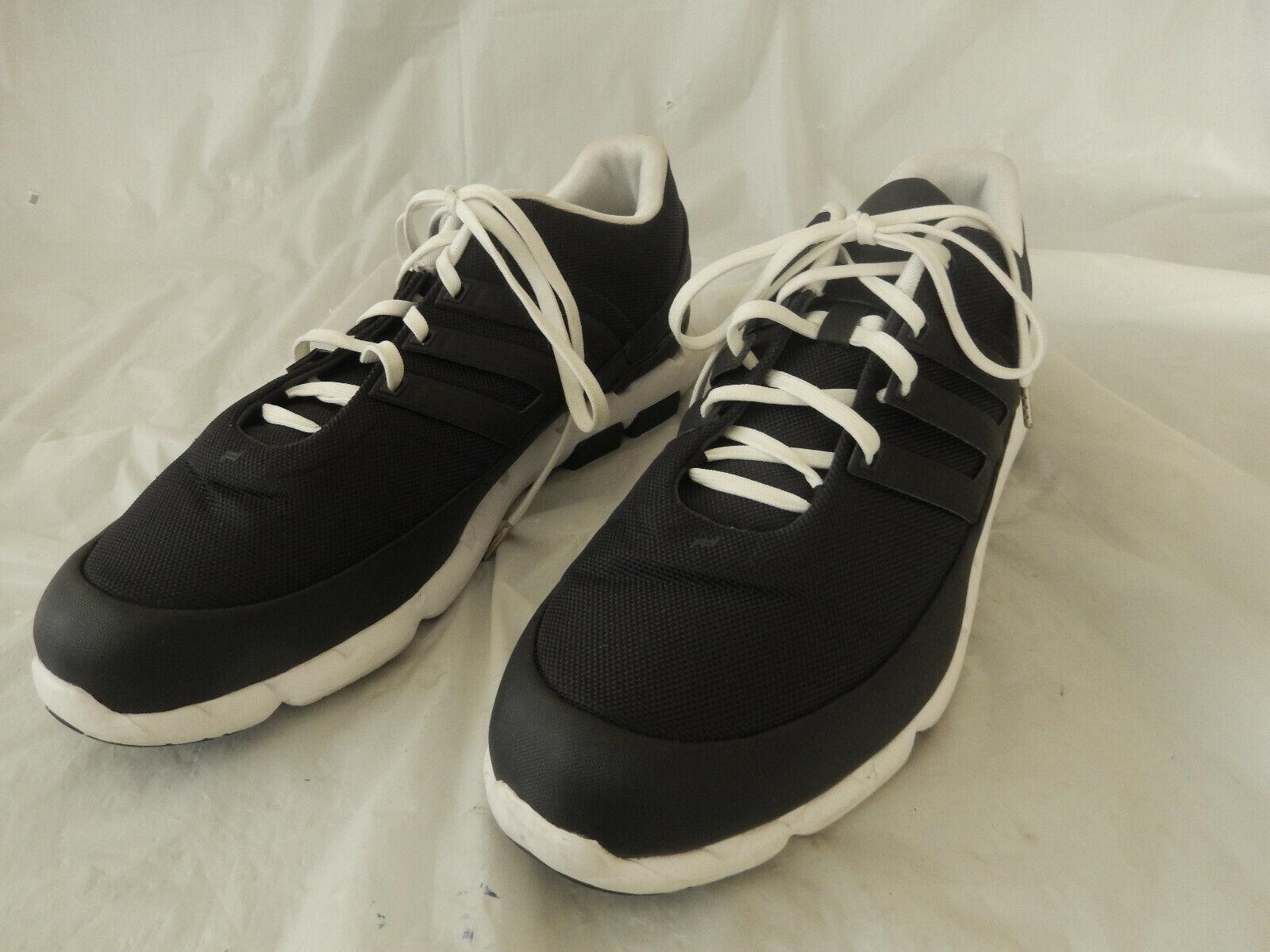 Adidas Porsche Design Sport Mens nero bianca scarpe  Dimensione US 12  consegna e reso gratuiti