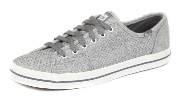 Keds Women's Gray Grey Glitter