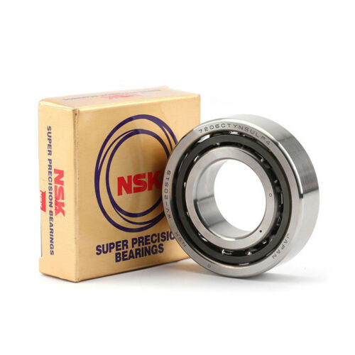 New in Box NSK 7207CTYNSULP4 Abec-7 Super Precision Contact Spindle Bearings