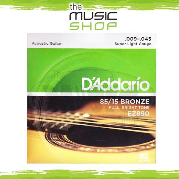 D Addario Ez890 Great American Bronze Super Light 009