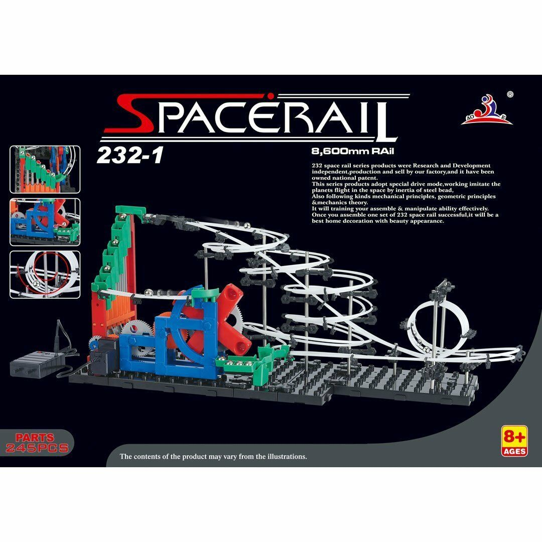 LOT 44380 | Spacerail 232-1 Kugelbahn Murmelbahn  Level 1 NEU in OVP