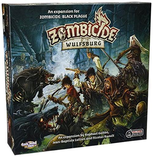 Zombicide  Wulfsburg Board Game COL GUF002