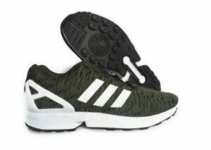NEW MEN S ADIDAS ORIGINALS ZX FLUX RUNNING SHOES - SIZE US 10 ... 3c6eaaaf1