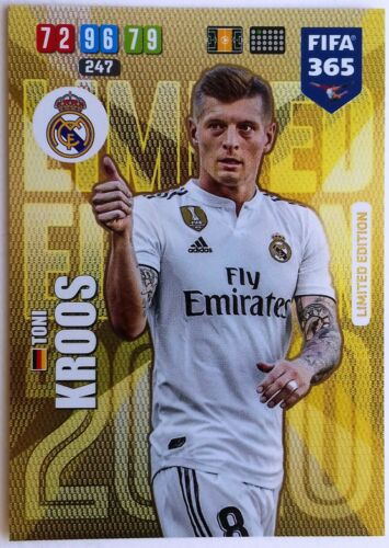 PANINI ADRENALYN XL FIFA 365 2020 Limited Edition cards