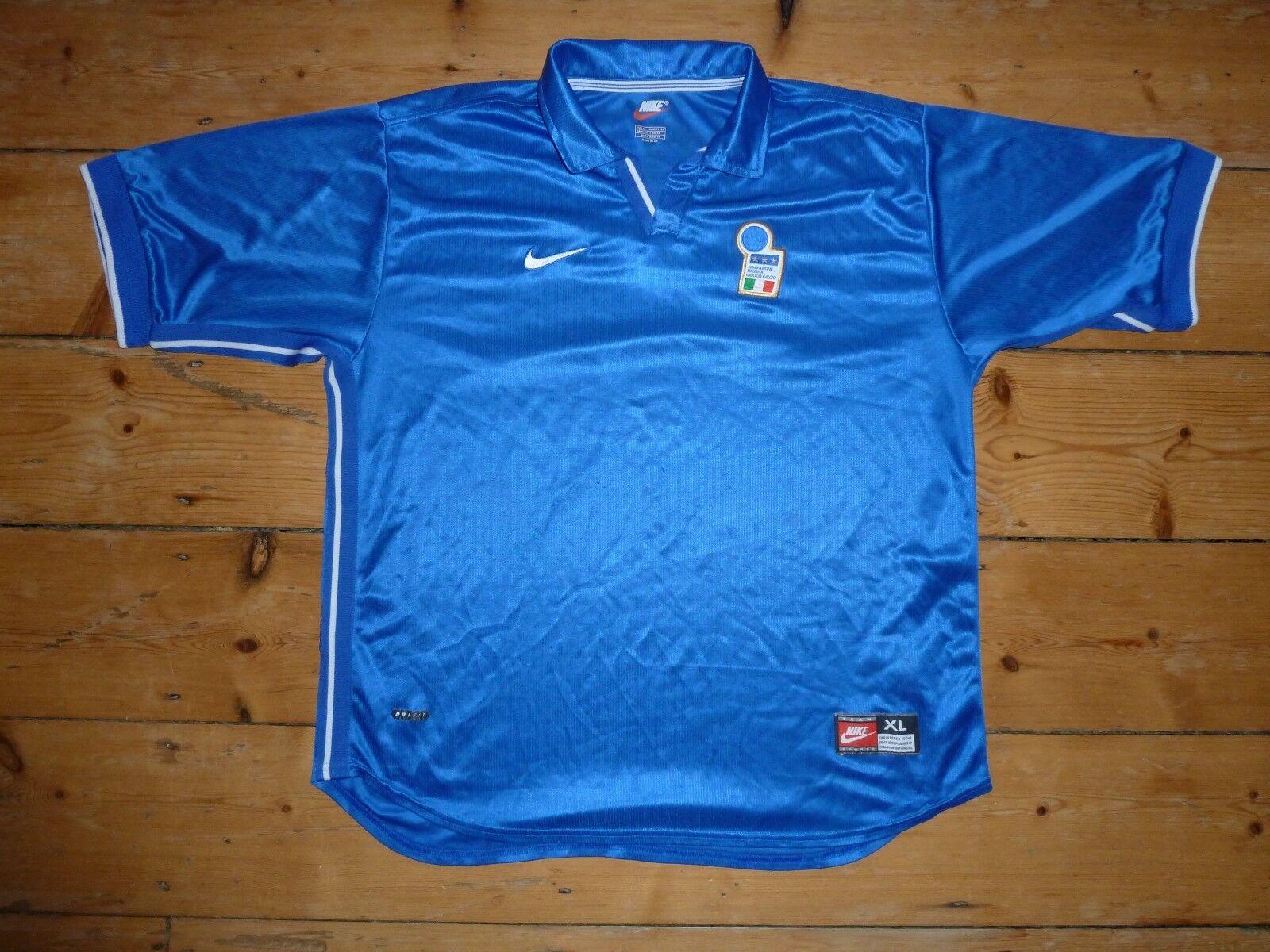 Italia T-Shirt Calcio BIADESIVO XL 1994 Maglia da Camiseta Maglla Trikot