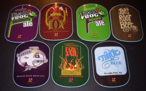 JOSEPH JAMES Nevada 7 STICKER PACK LOT decal craft beer brewing brewery