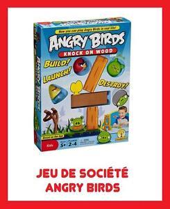 JEU-PLATEAU-GAME-JOUET-SOCIETE-ANGRY-BIRDS-NEUF-RARE-ENFANT-JEUX-OISEAUX-COCHON