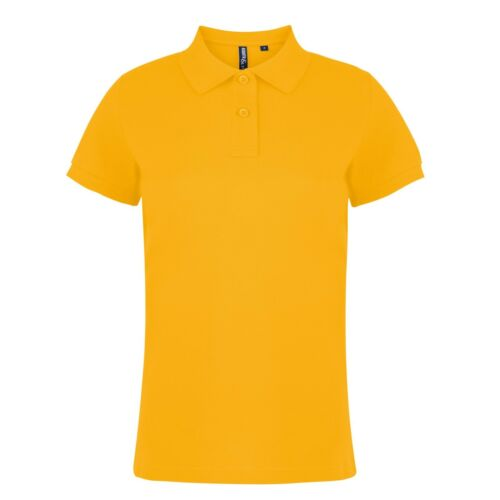 Womens 100/% Ringspun Combed Cotton Short Sleeve Polo Shirt 30 Colours XS XL