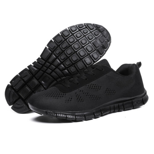 Men/'s Mesh Running Trainers Athletic Walking Gym Shoes Sport Run Size UK