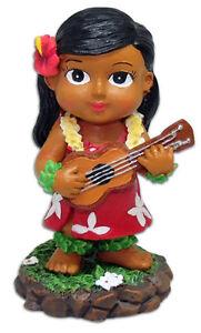 Keiki Hula Girl Doll Ukulele Player Hawaiian Gift Hawaiiana Hawaii Kids Aloha NB