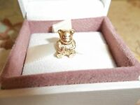 Genuine Authentic Pandora 14ct Solid Gold Teddy Bear Charm 750462 - 585 ALE