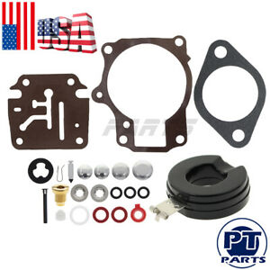 Carburetor Carb Rebuild Kit For 0390134 038785 Johnson Evinrude 0384412 0384413