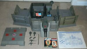 Lot-1983-GI-Joe-Headquarters-Command-Center-Base-Cobra-Jail-Blueprints-Complete