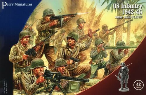 US INFANTRY - WORLD WAR II - PERRY MINIATURES