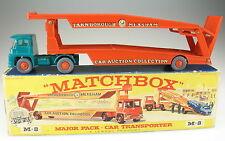 MATCHBOX Major Pack M-8 - Guy Warrior Car Transporter Autotransporter in OVP BOX