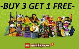 LEGO-MINIFIGURES-SERIES-3-8803-PICK-CHOOSE-YOUR-OWN-BUY-3-GET-1-FREE