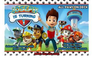 Image Is Loading Paw Patrol Birthday Party Invitation Printable