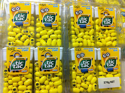 Minion Tic Tacs Limited Edition 12 Packets FAST N FREE DELIVERY