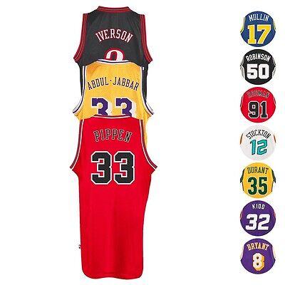 NBA Adidas Soul Swingman HWC Throwback Retro Jersey Collection - Men's