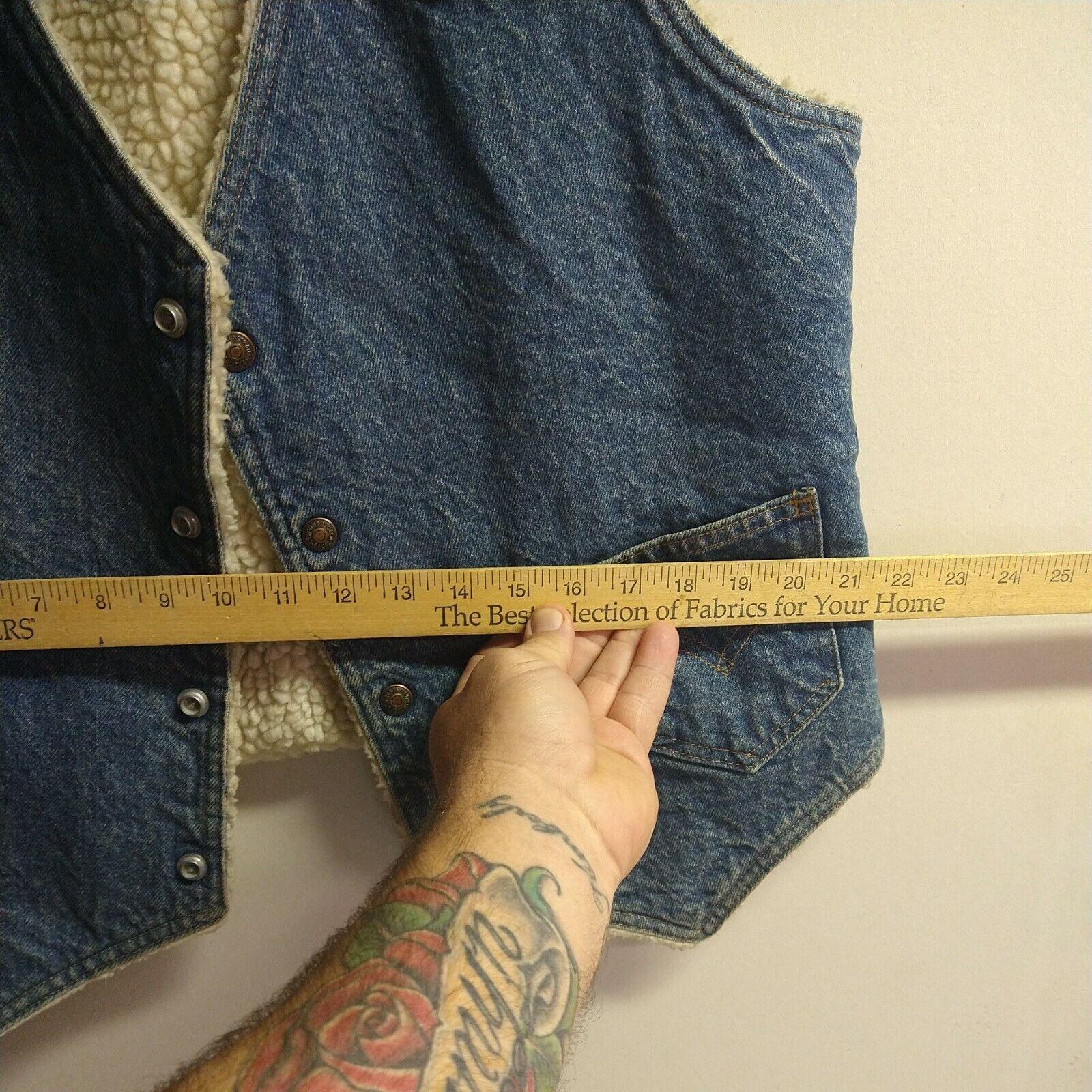Levis vintage clothing Vest made in USA - image 6