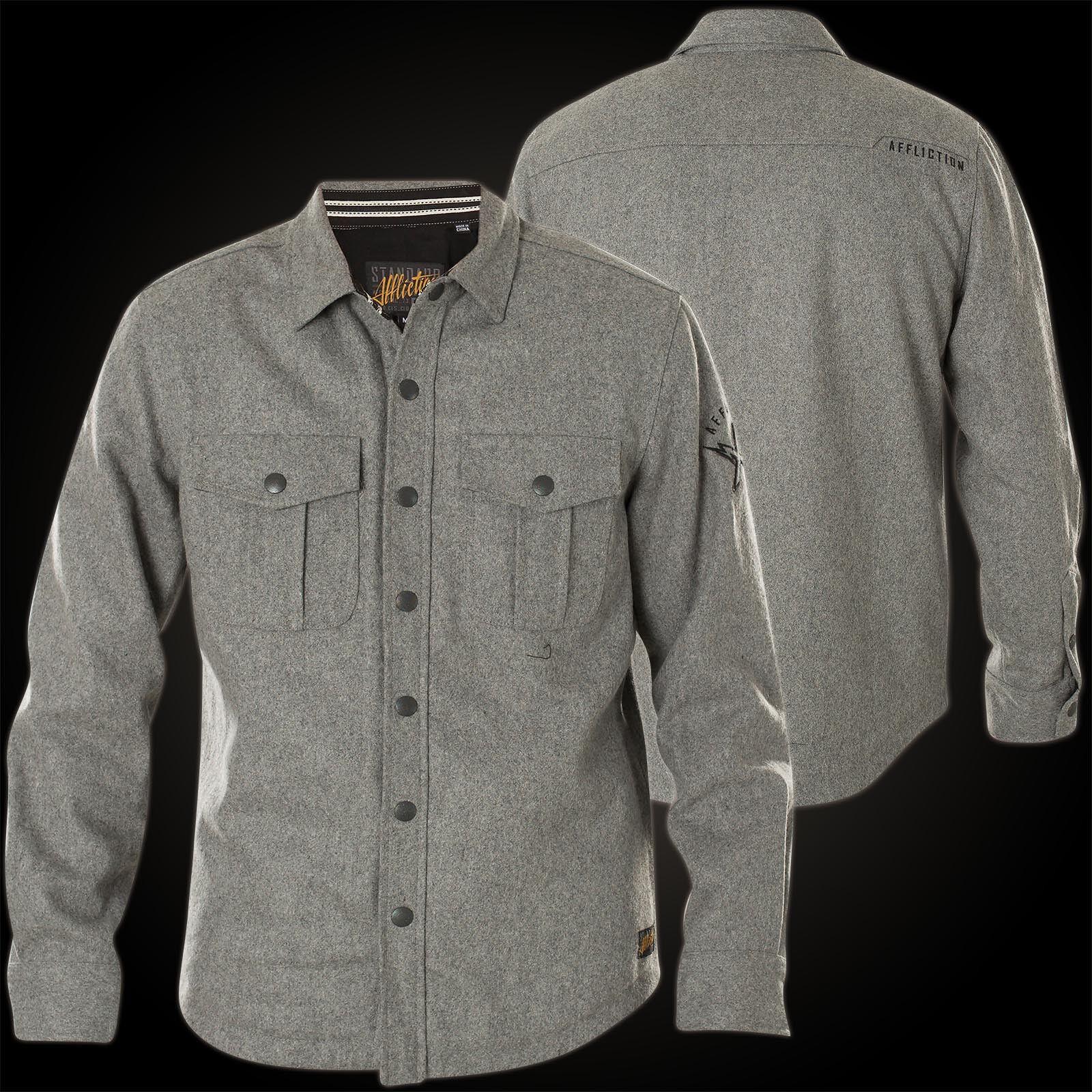 Affliction Jacket Take Back The Street Grey