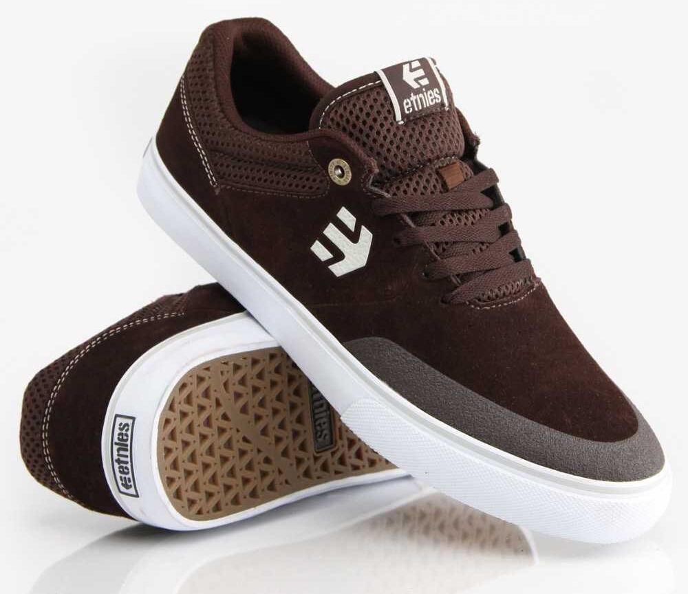 Zapatos casuales salvajes ETNIES Marana Vulc brown/white/gum men's scarpe da skateboard Zapatillas cod.218 _