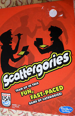 Scattergories Card Party Game Replacement Parts /& Pieces 2013 Hasbro
