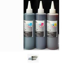 250ml Premium Refill Bulk CMY Ink for All HP Canon Epson Lexmark Printers