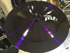 "Paiste Custom Shop Purple PST7 18"" China Cymbal"
