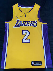 Nike Dri-Fit Lonzo Ball Rookie #2 Jersey LA Lakers (864423-736 ...
