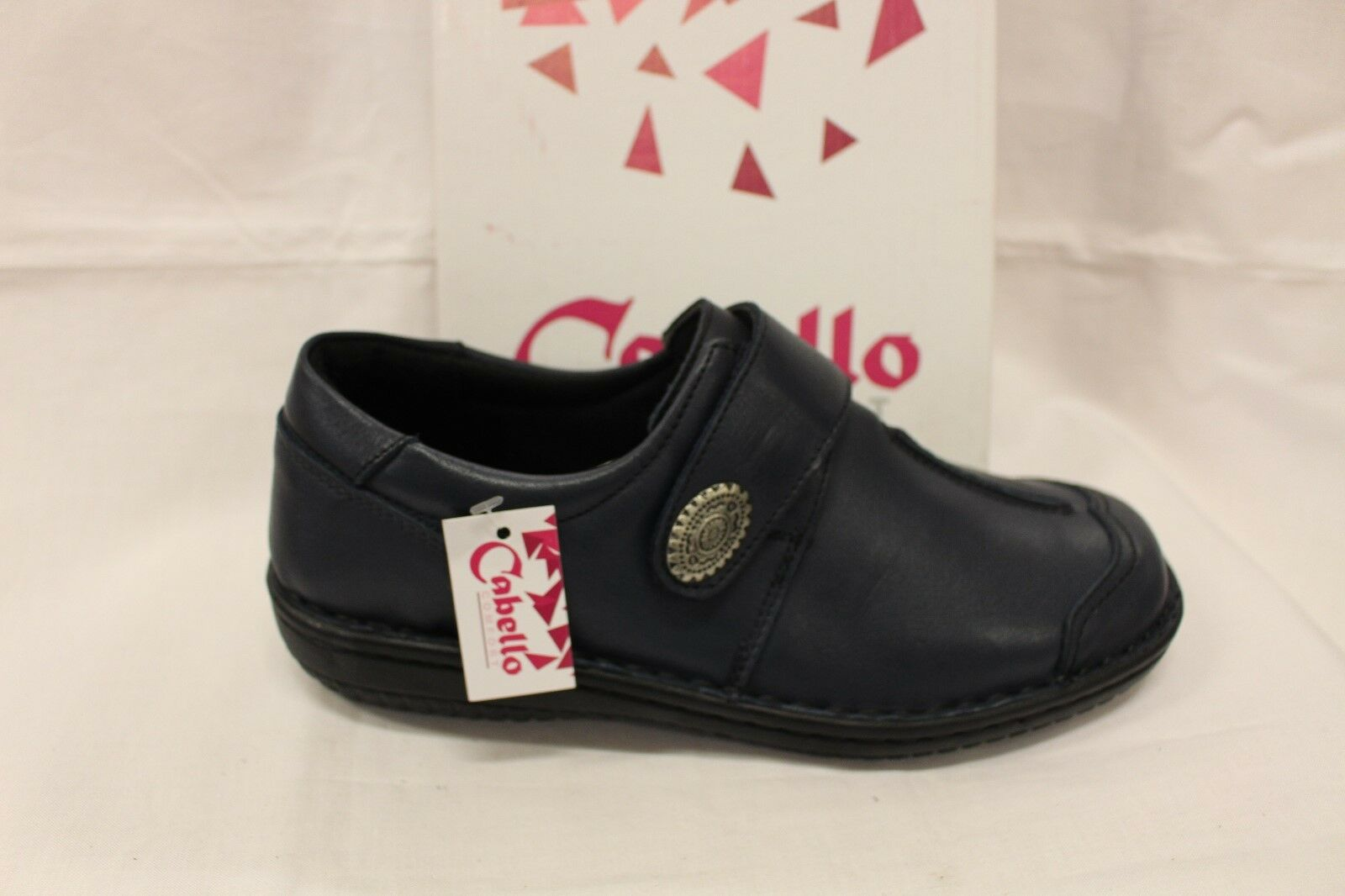 LADIES SHOES/FOOTWEAR - Cabello shoe 5072 navy slip on