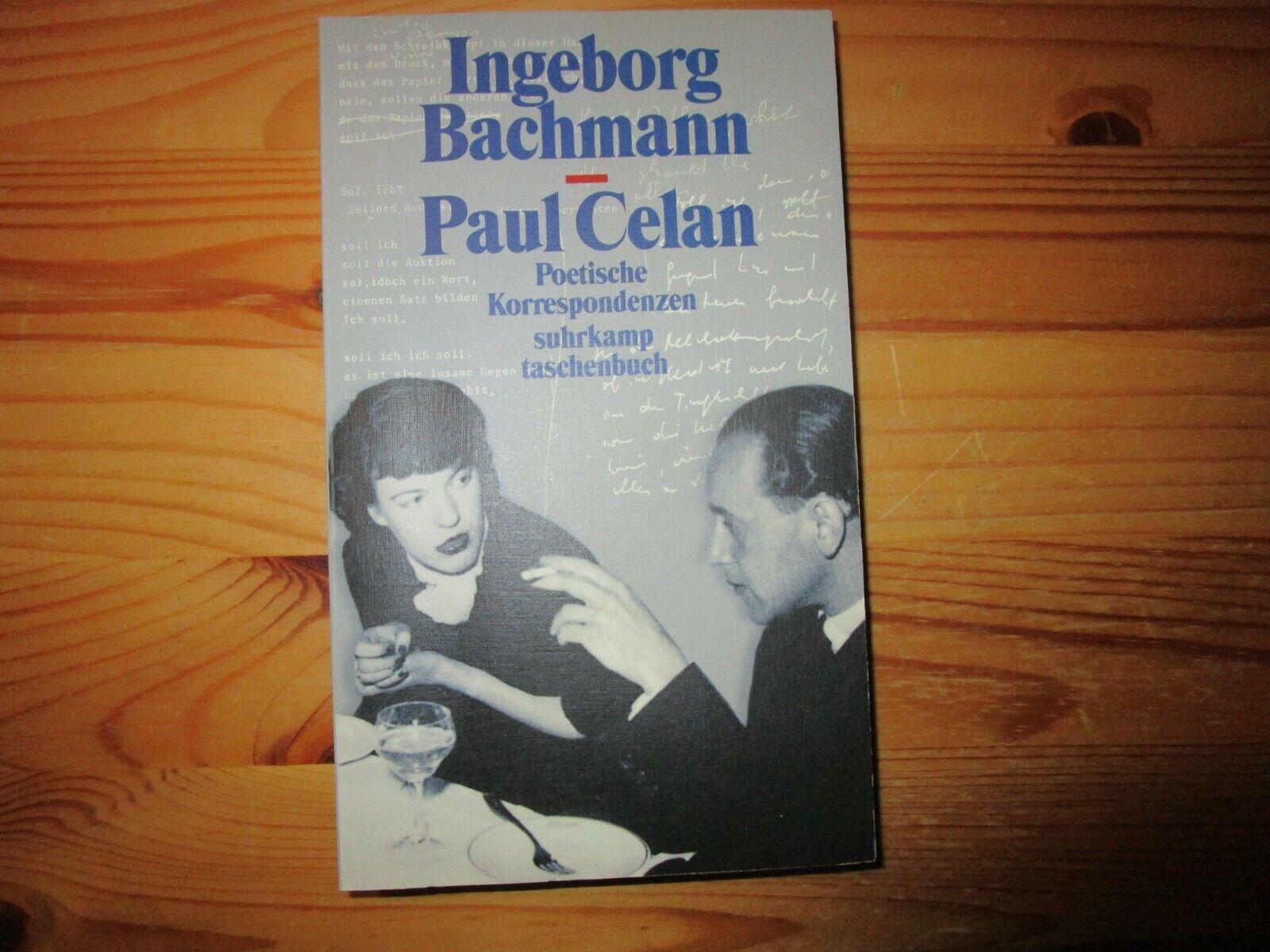 Poetische Korrespondenzen, von Ingeborg Bachmann / Paul Celan - Ingeborg Bachmann / Paul Celan