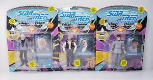 Lot-of-3-Playmates-Star-Trek-TNG-Spock-Scott-McCoy-Action-Figures-Vtg-20602