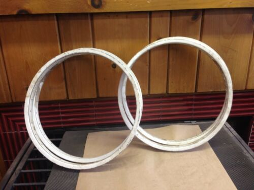 "20"" 28 hole NOS Rims 2 pair available"