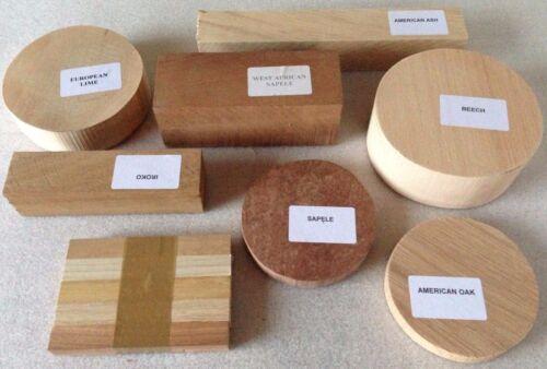 Woodturning Selection Gift Box Bowl /& Square Wood Turning Blanks Gift Box