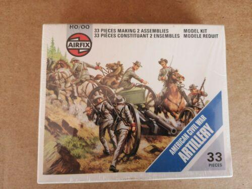 AIRFIX MADE USA ON SPRUES American Civil War Union /& Confederate Artillery