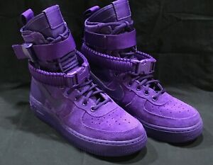 Nike Air Force 1 SF AF1 COURT PURPLE SUEDE 864024 500 Boots Special Field High