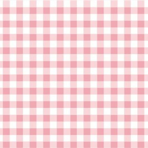 Clásicos de algodón-rosa pálido-Guinga 9mm 100/% TELA DE ALGODÓN patchwork de Vivero